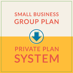 How to Convert a Small Business Group Plan to a Private Plan System