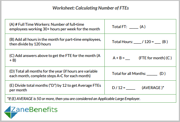 Printables Fte Calculation Worksheet faq will our small business be penalized for not offering health worksheet calculating fte