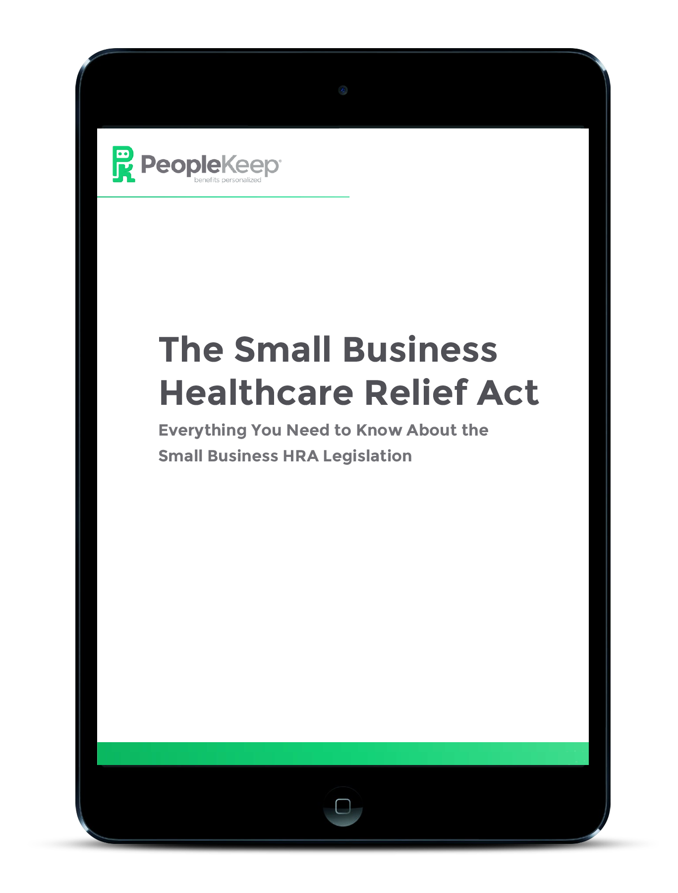The Small Business Healthcare Relief Act eBook