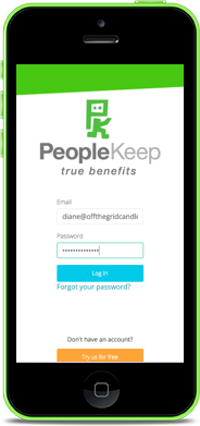 PeopleKeep Employee Benefits Mobile Login
